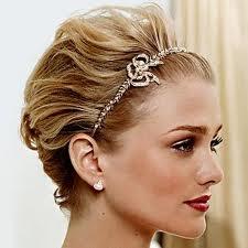 cabelos Curto noiva