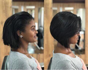 transformação para os cabelos curtos com a Claudia Scarpel
